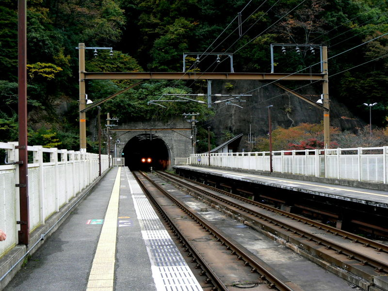 Hosokyou Station in Kyoto