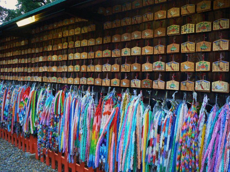 New Year wishes at Fushimi Inari Shrine