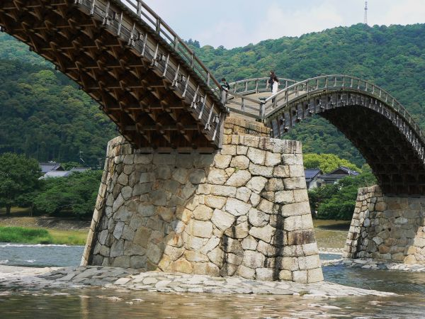 Kintai Bridge at Iwakuni