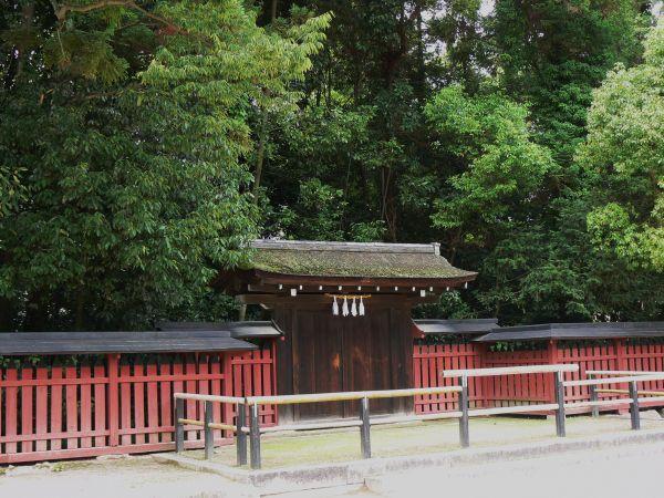 Gate on Miyajima Island