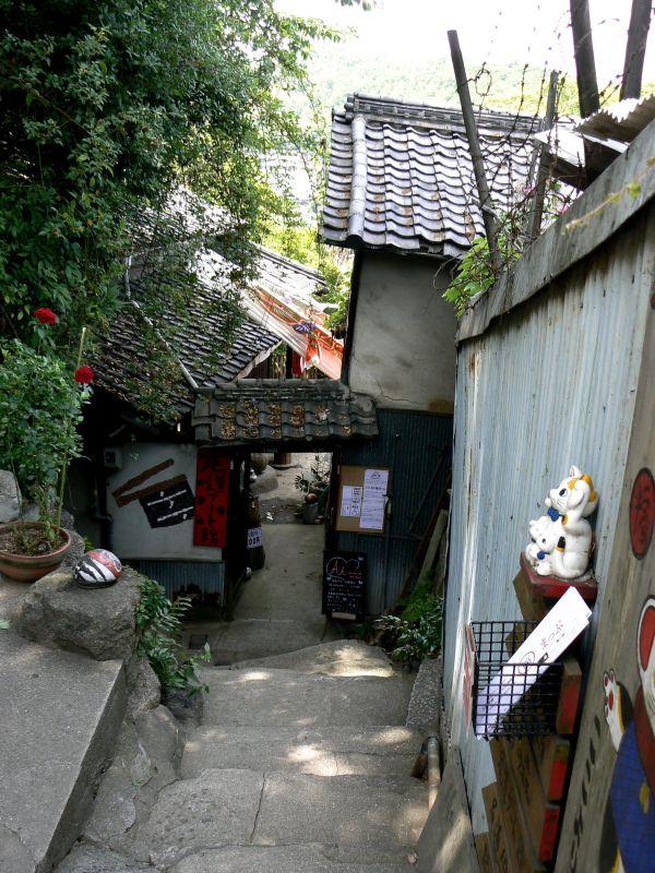 Hillside alley in Onomichi