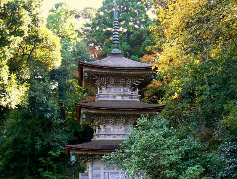 Pagoda at Natadera