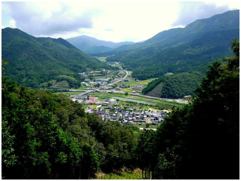 Wadayama-cho from Mt. Kojo