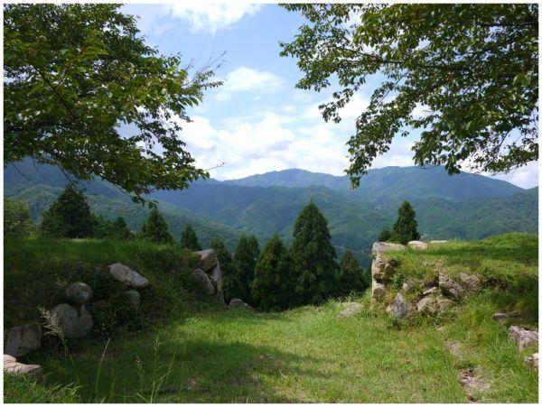 Takeda Castle ruins
