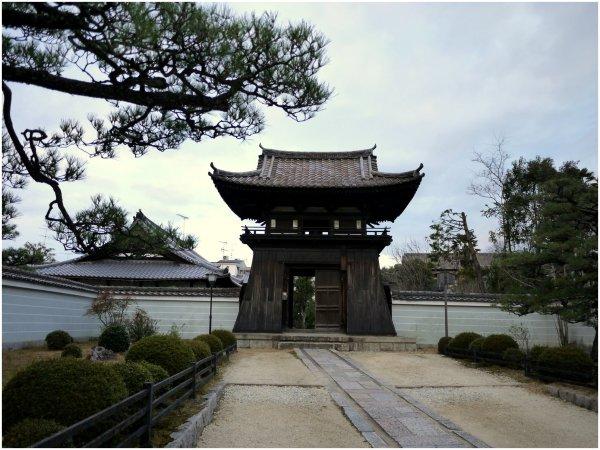 Beautiful Japanese gate