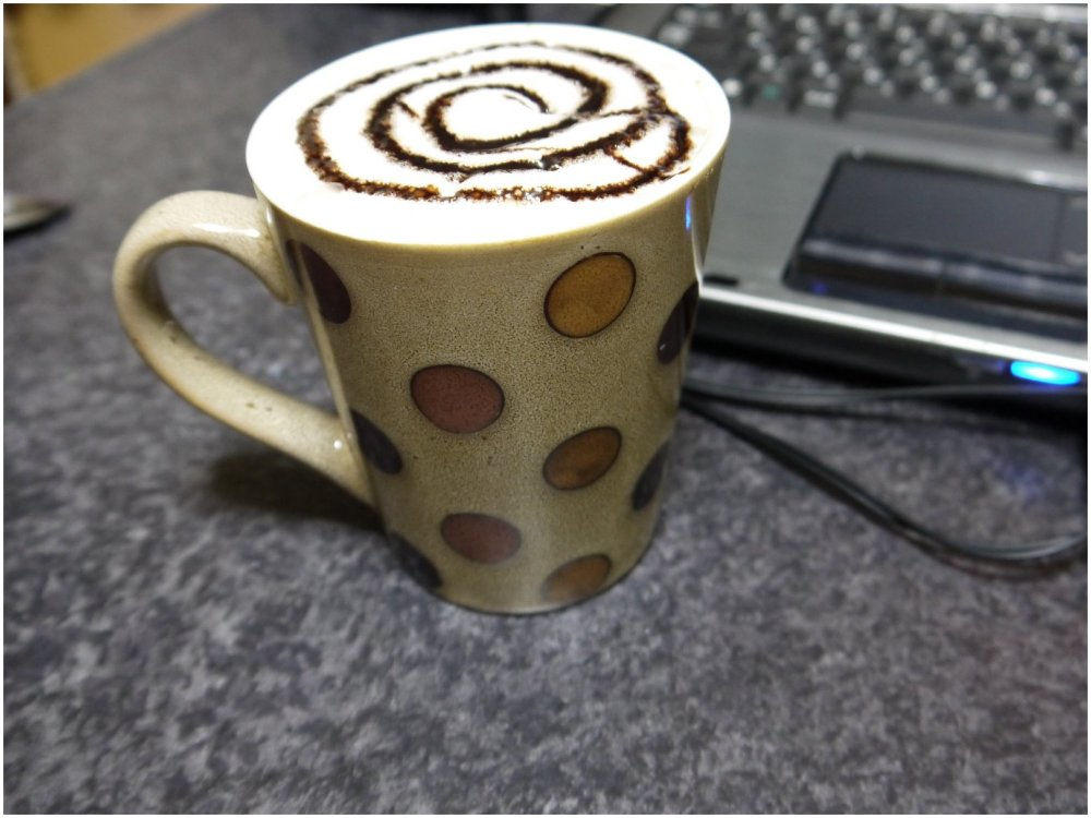 Cafe mocha coffee cup