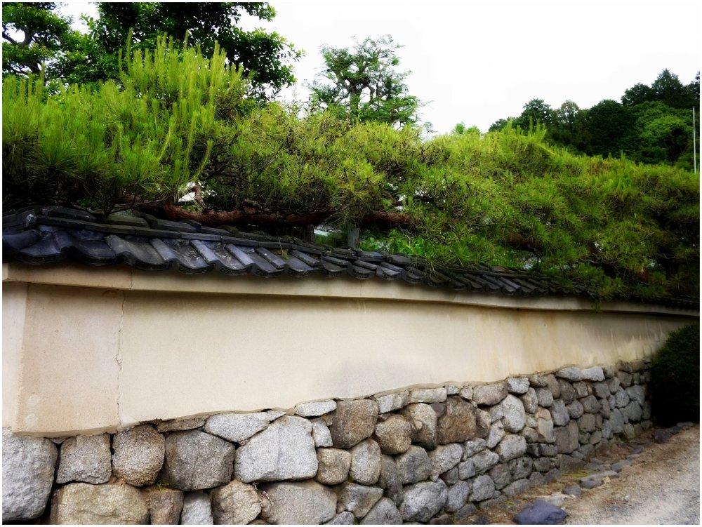 Japanese wall