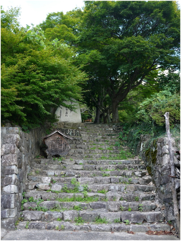 Stone steps of a temple