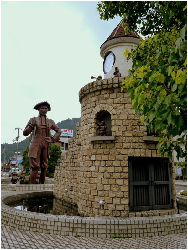 Statue of Gulliver at Takashima