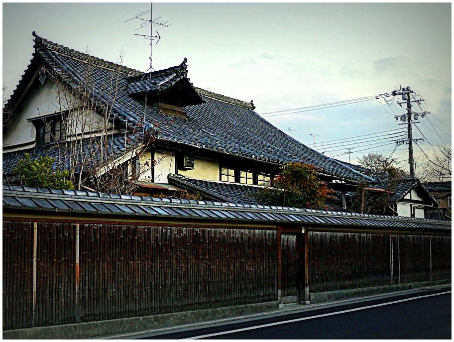 Large old house in Kyoto
