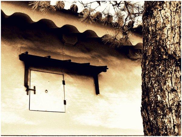 Japanese storehouse window