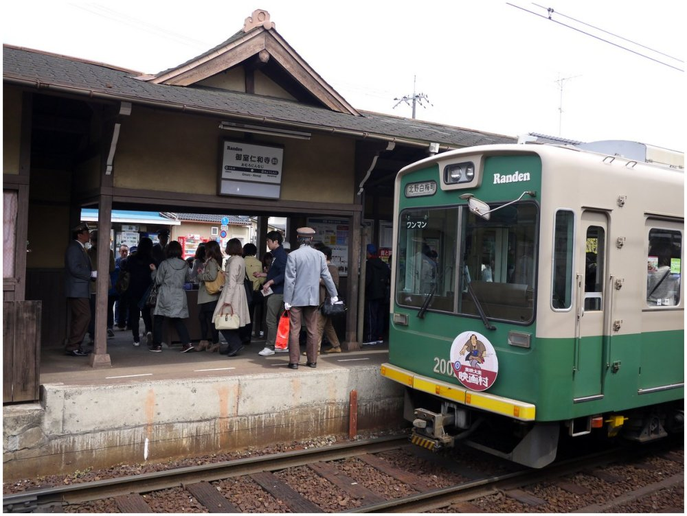 Small Japanese train station