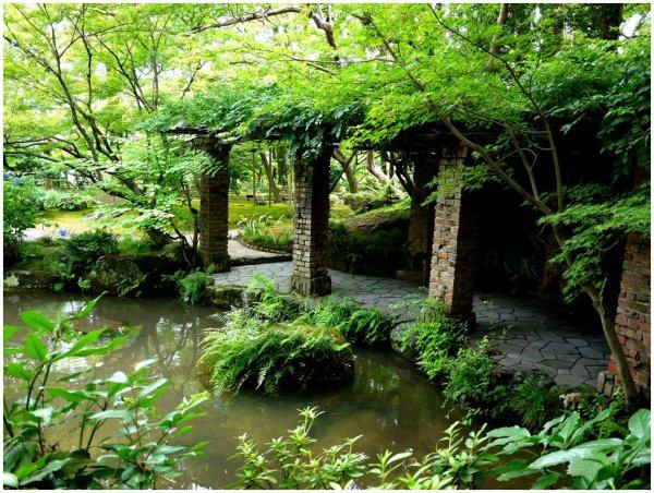 Pergola at Yamazaki Villa