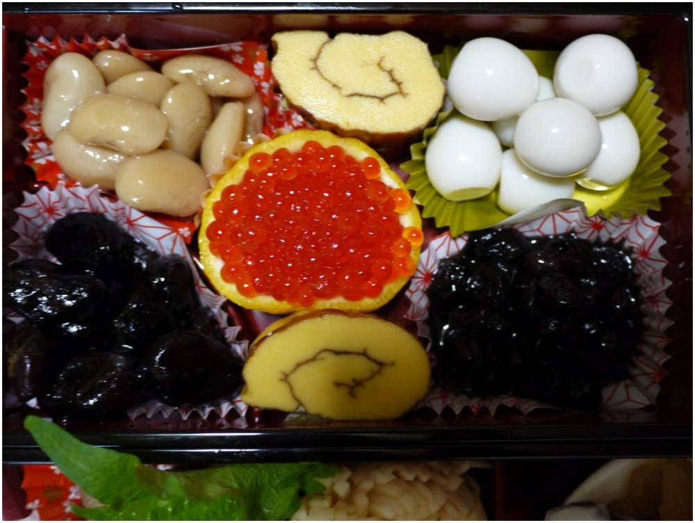 Japanese New Year food