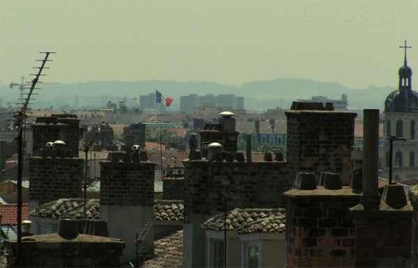Top of the lyon France