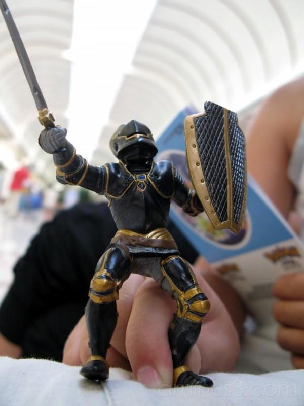 Toy knight.