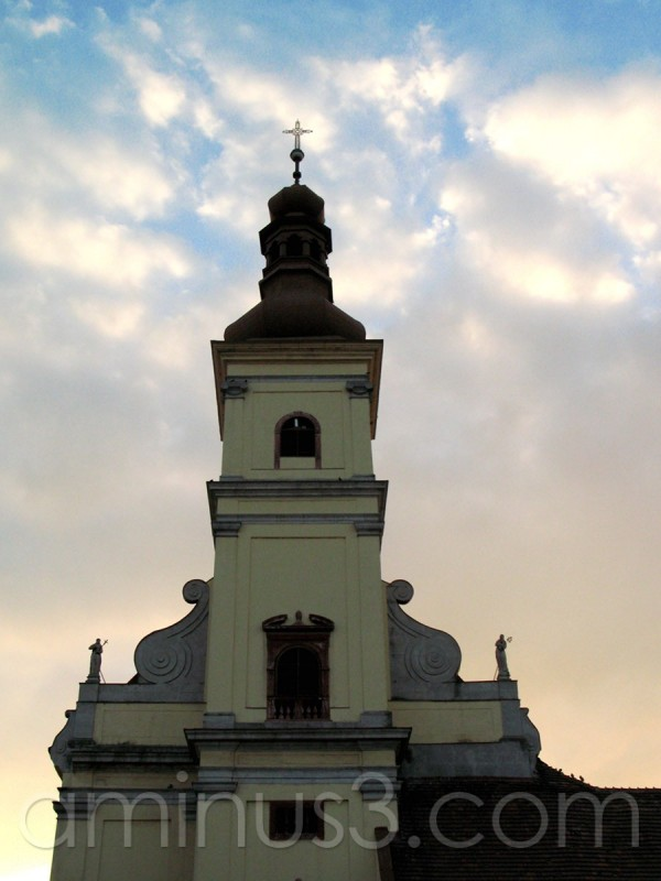 Franciscan church in Trnava.
