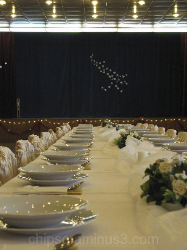 Wedding hall.