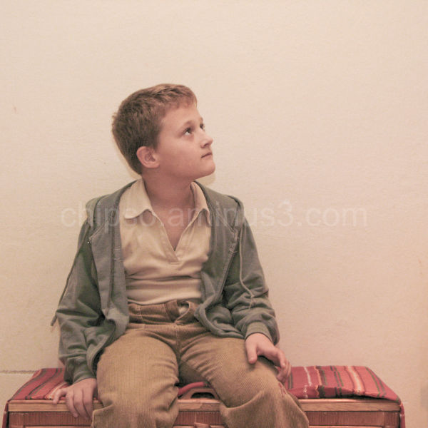 Portrait of Martin Mistina young boy.