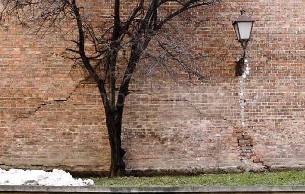 Brick wall in Trnava