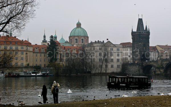 February day in Prague