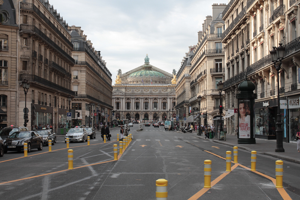 The Paris Opera at bussy day, France.