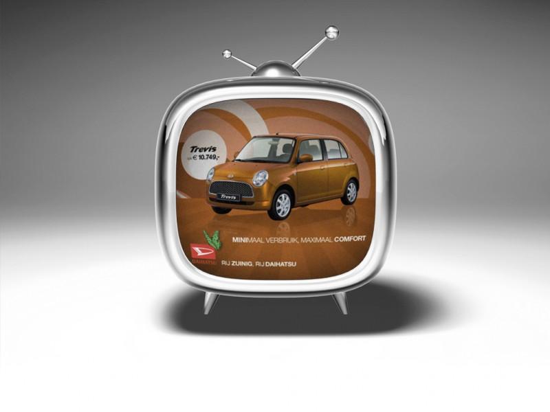 tv commercial daihatsu trevis