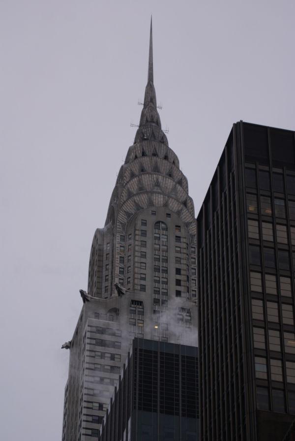 chrysler in winter