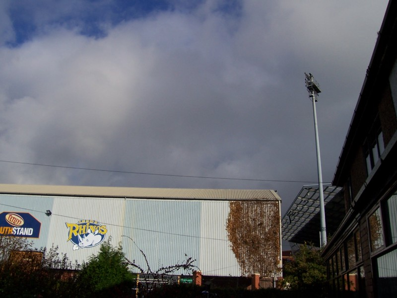 Clouds over Headingley