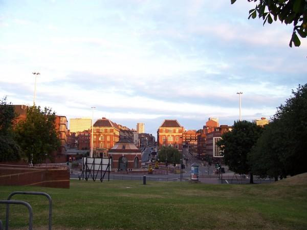 Dawn Breaks over Leeds