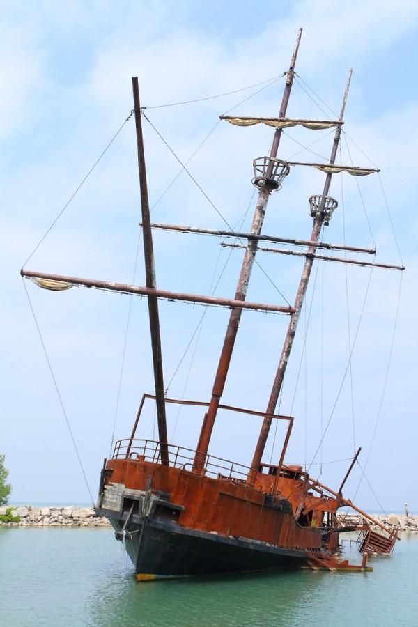 Jordan Harbour shipwreck
