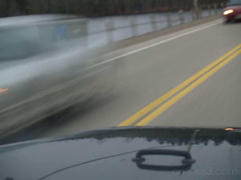 ghost car blur