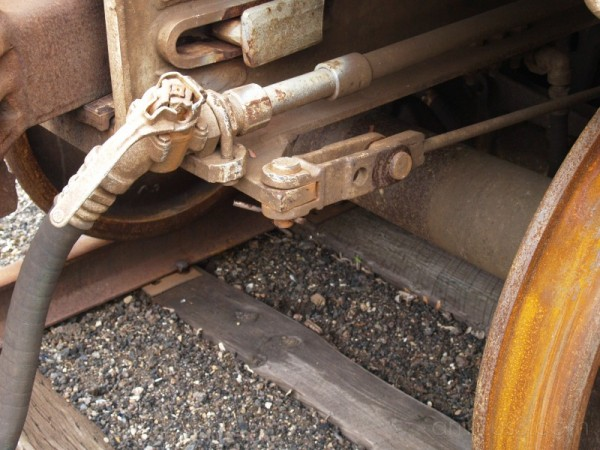 train still on tracks