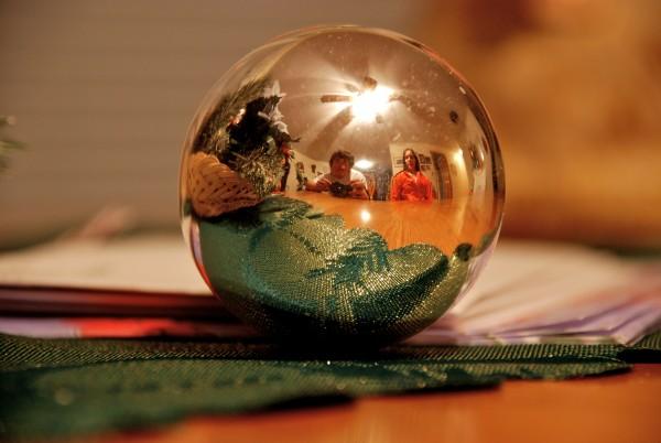Look deep within my crystal ball.