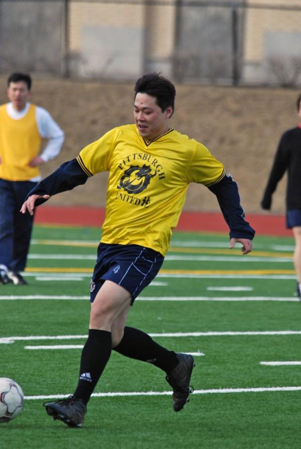 Soccer player at CMU.
