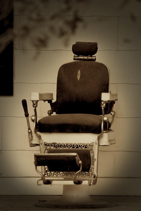 A chair at the Babcock Ranch.