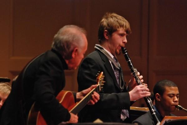 Joe Negri performs at Carnegie Music Hall.