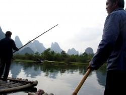 raft china man poeple