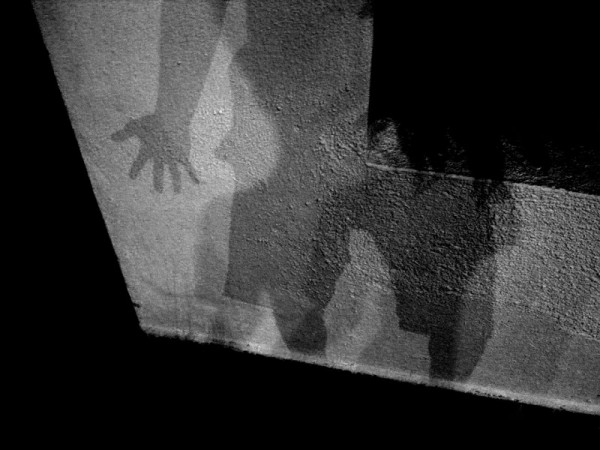 a shadow play