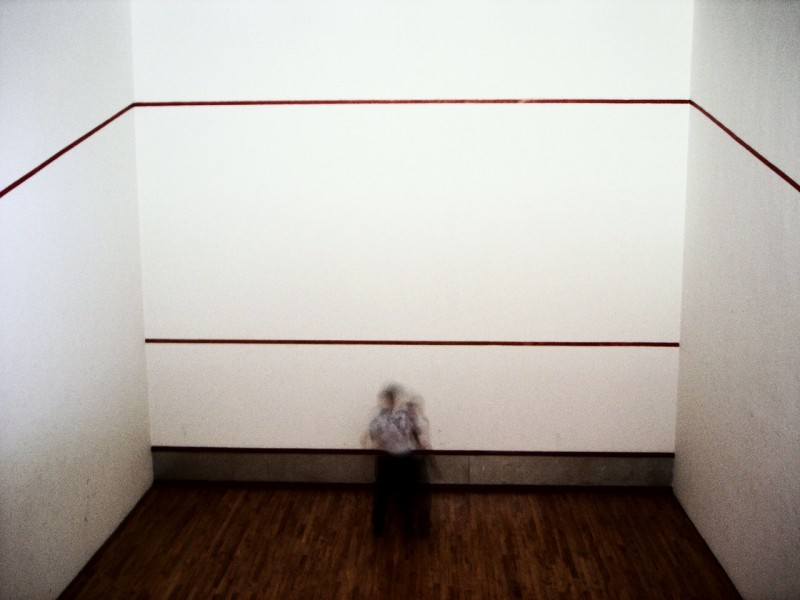 madness in squash room