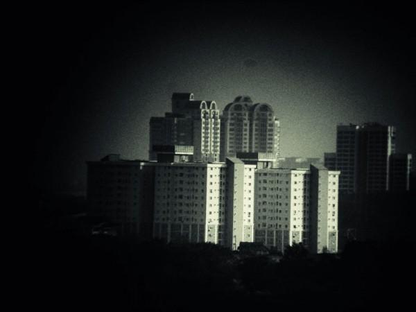 ttv of binocular capturing malaysia building
