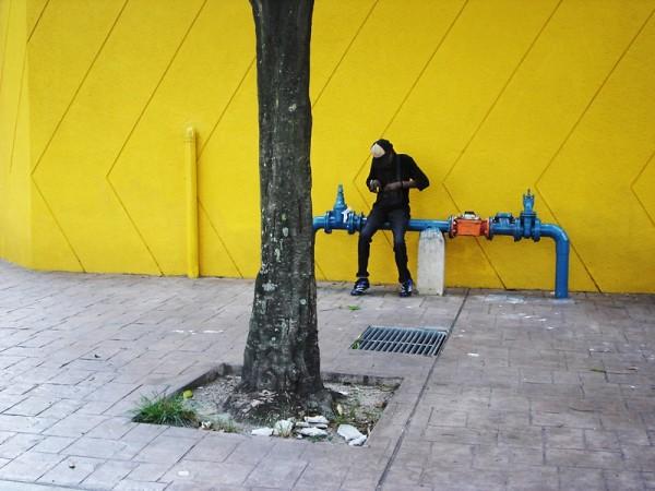 a wandering guy with his environment kuala lumpur