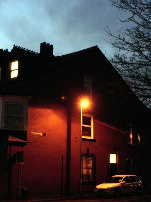 gloomy atmosphere at daylight saving time period