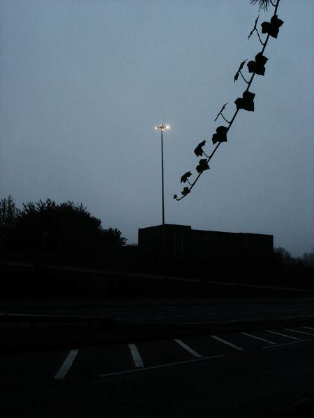 to leeds city centre highway in dark atmosphere