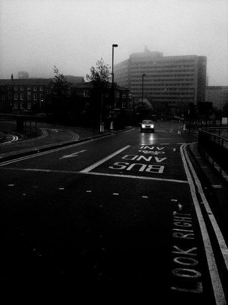 a photo taken on woodhouse lane street to city