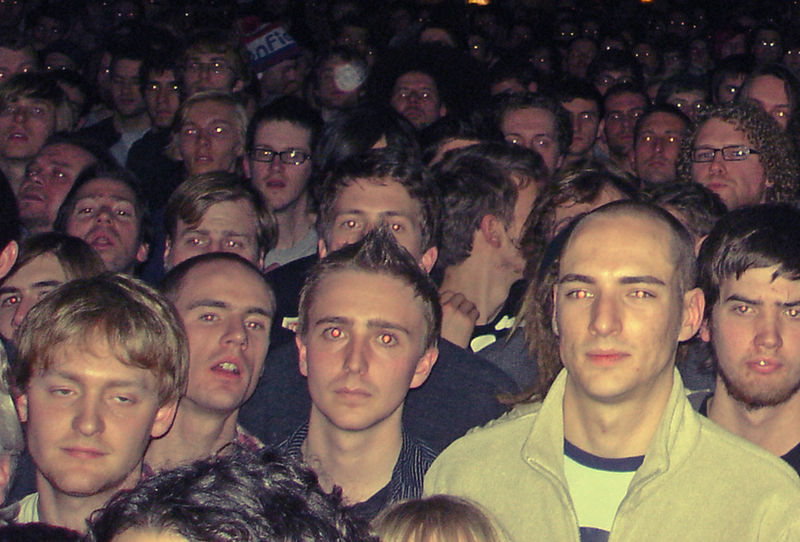 crowd in the mars volta