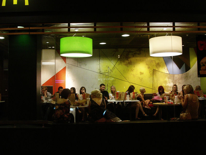 the last supper McDonald
