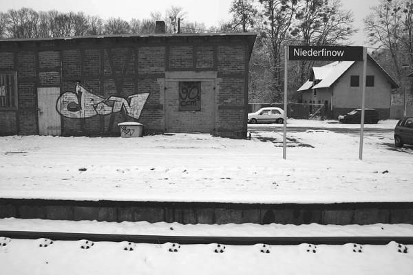 Snowbound Niederfinow