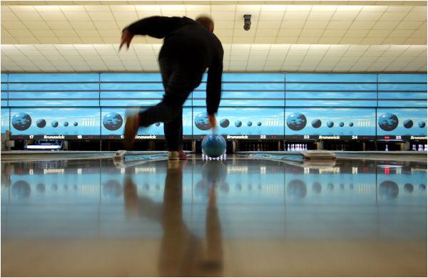 At the Bowling Ball