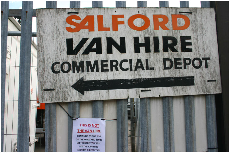 Not Salford Van Hire
